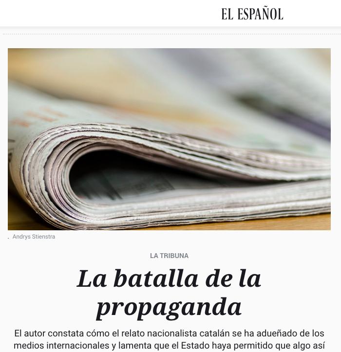20180411 La batalla de la propaganda
