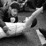 'Fuera las fuerzas de ocupación'
